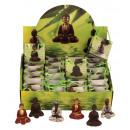 groothandel Figuren & beelden: Boeddha's in tassen op een Display h = 5 cm, 6