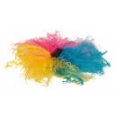 grossiste Accessoires cheveux: Pince à cheveux boucles colorées c à 19cm de long