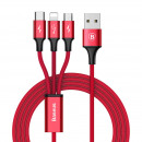 Baseus Cable Rapid-serie 3-in-1 Micro + Lightning
