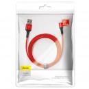 Câble de données Halo Baseus Type-C 2A 2m rouge (C