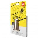 wholesale Car accessories: Baseus Car Charger Trumpet metal power Gold (CCLB-