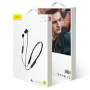 Baseus Earphone Bluetooth Encok S12 Black (NGS12-0