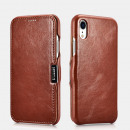 iCarer Iphone XR-Fall Vintage Serie Side-Open (erf