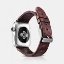 iCarer Watchband-38mm Klasyczna prawdziwa skórzana