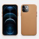 wholesale Car accessories: iCarer iPhone 12 mini (5.4) Case Original Real Lea