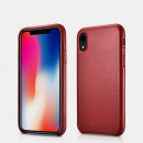 wholesale Car accessories: iCarer iPhone XR Case Original Genuine Leather Red