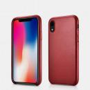iCarer Iphone XR Case Origineel Echt Leer Rood