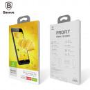 Baseus Iphone 8/7 0,3 mm pełne szkło T-Glass Trans