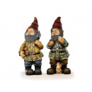 wholesale Garden & DIY store: Dwarf made of poly, 31 cm