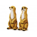 Großhandel Spielwaren: Erdmännchen aus Poly, 16 cm