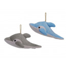 wholesale Toys: Dolphin made of plush, 23 cm