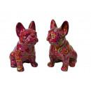 Großhandel Geschenkartikel & Papeterie: Spardose Bulldogge aus Porzellan, 22 cm