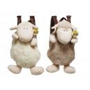 Zaino pecore di peluche, 33 cm