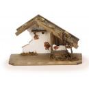 groothandel Home & Living:Box van hout, 30 x 18 cm