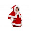 groothandel Kleding & Fashion: pluche kinderen jurk met Cape 'Christmas'