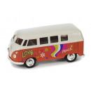 VW Bus T1 Hippie Diseño 12 cm