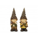 Pine cones made of poly, 22 cm
