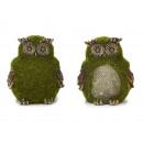 groothandel Home & Living: Uil van poly 'mos Design', 8 cm