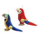 Parrot made of plush, 20 cm