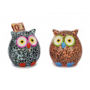 wholesale Gifts & Stationery: Spardose owl made of ceramics, 9 cm