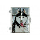 Magnet set 5pcs. 7 x 9 cm, Husky design