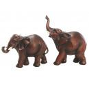 Elephant made of poly, 12 cm