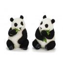 Pandabär de poly, 13 cm