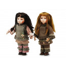 wholesale Toys: Doll with porcelain head, 45 cm