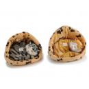 nagyker Háztartás és konyha: Deco Macska kosár műszőrme, 16 cm