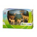 mayorista Regalos y papeleria: Rehfamilie, 5 cm a 10 cm ciervo, cabra y 2 Kitz