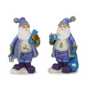 wholesale Home & Living: Christmas man in poly, 14 cm