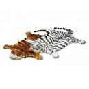 Tiger tappeto fatto di peluche, 110 cm