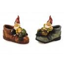 mayorista Jardin y Bricolage: Zapato con enanas poli, 13 cm