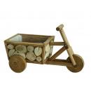 Triciclo in legno, 36 x 18 x 20 cm