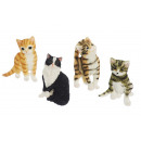 wholesale Gifts & Stationery: Magnetic cat made of poly, 7 cm