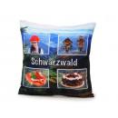 Großhandel Kissen & Decken: Kissen Schwarzwalddesign, 40 x 40 cm