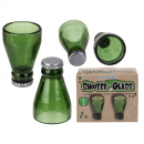Shooter poharak, sörösüveg, kb. 50 ml-re,