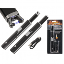 wholesale Lighters: Stick lighter, Black Fire, approx. 11 cm,