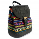 wholesale Handbags: Florentine - Black Stripy Classic