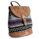 Großhandel Handtaschen: Florentine - Schokolade Stripy Classic