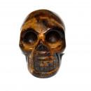 hurtownia Make-up: Gemstone Skull - Tiger Eye