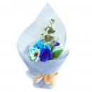 wholesale Shower & Bath: Buy Standing Soap Flower Bouquet - Blue