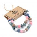 grossiste Bijoux & Montres: Lot de 2 bracelets d'amitié - Harmony - Rainbo