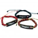 Großhandel Mäntel & Jacken: Coco Slogan Armreifen - Vegan