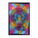 wholesale Wall Tattoos: Double Cotton Bedspread + Wall Hanging - Peaceful