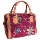Großhandel Handtaschen: Batik & Ledertasche - Executive Bag - Ruby