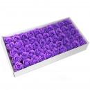 wholesale Garden & DIY store: Flower Soap for Craft - Med Rose - Lavender