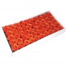 groothandel Stationery & Gifts: Bloemzeep voor Craft - Med Rose - Sunset Orange