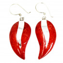 wholesale Earrings: Coral Style 925 Silver Earring - Mangos