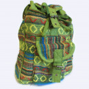 wholesale Backpacks: Small Nepali Backpack - Green